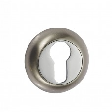 Накладка под цилиндр Vantage ET D матовый никель