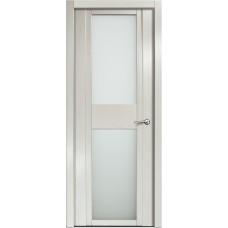 Дверь Milyana Qdo D ясень жемчуг ст белое
