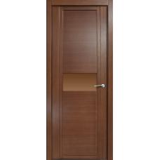 Дверь Milyana Qdo H дуб палисандр ст бронза