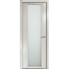 Дверь Milyana Qdo X ясень жемчуг ст белое