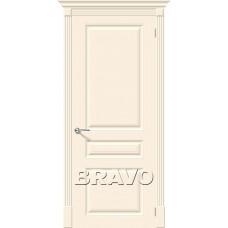 Дверь эмаль BRAVO Скинни-14 Сream