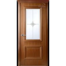 Дверь шпон Belwooddoors Франческа ДО рис 23 орех