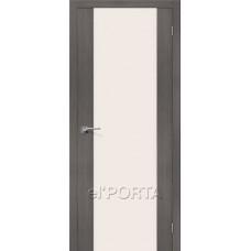 Дверь экошпон El Porta Порта-13 Grey Veralinga СТ-Magic Fog