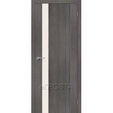 Дверь экошпон El Porta Порта-11 Grey Veralinga СТ-Magic Fog