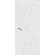 Дверь Luxor Line белая эмаль
