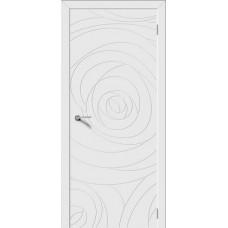 Дверь Luxor Rose белая эмаль