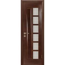 Дверь массив сосны ПМЦ М11 ДОФ темный лак 600x700x2000mm