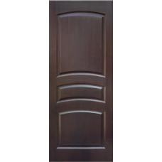 Дверь массив сосны ПМЦ М16 ДГФ темный лак