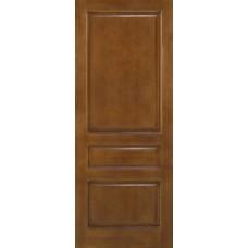 Дверь массив сосны ПМЦ М5 ДГФ коньяк