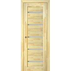 Дверь массив сосны ПМЦ Вега 5 ДО неокрашенная
