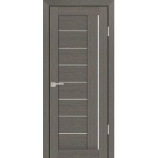 Дверь Profilo Porte PS 17 грей мелинга стекло белый сатинат