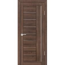 Дверь Profilo Porte PS 17 орех пасадена стекло белый сатинат