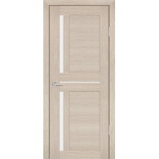 Дверь Profilo Porte PS 19 капучино мелинга стекло белый сатинат