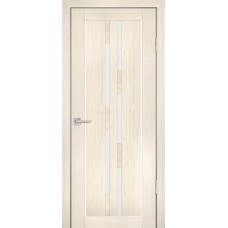 Дверь Profilo Porte PS 33 эш вайт мелинга стекло белый сатинат