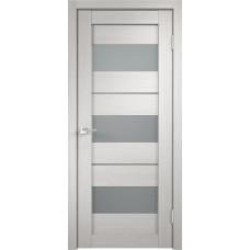 Дверь Velldoris Duplex 12 дуб белый стекло Matelux