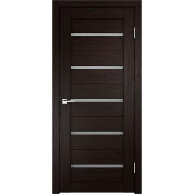 Дверь Velldoris Duplex 1 венге стекло Matelux